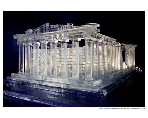 ON-AIR Project 153-1, The Monologue of Ice Series, Parthenon