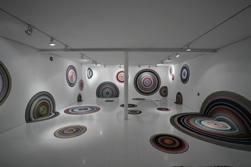 the fan, installation view