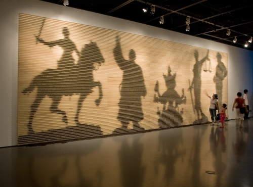 Shadows of Heroes, installation view, Seoul Museum of Art