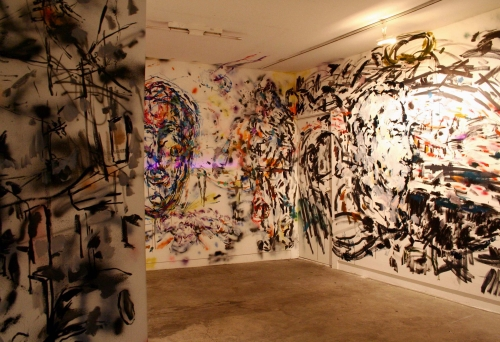 What I can say in the city, installation view