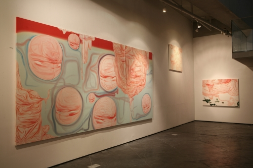 How ugly they are!, installation view
