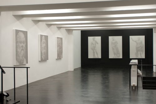 Shadow of Heroes, installation view