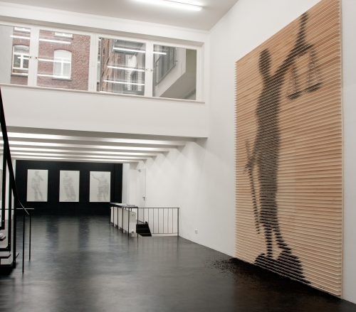 Shadows of Heroes, installation view