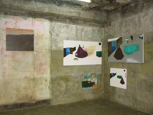 Installation view, Project Space SARUBIA