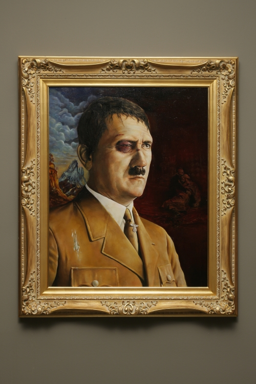 A fire-eater_A great Hitler