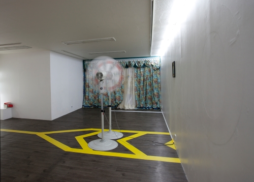 Chronic with holding of Judgement, installation view