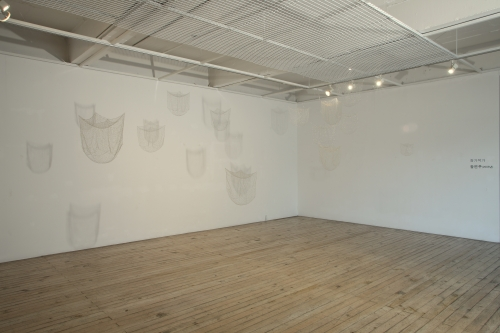 UP-AND-COMERS, installation view