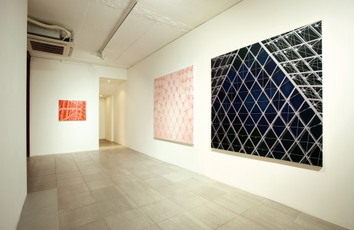 labyrinth, installation view