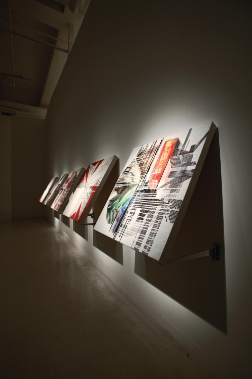 JUMBLE PAINTING, Installation View