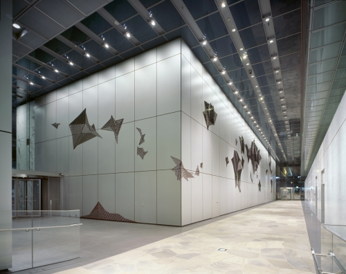 New  Romancer, Public Art, Samsung Electronics Seocho tower, Seoul, installation view