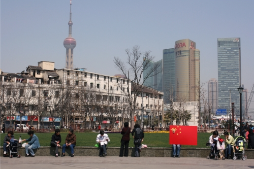 The Five Starred Red Flag of Shanghai