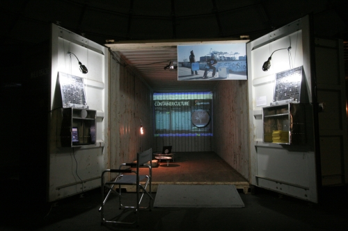 ISEA 2006, Zero One, Container Culture, installation view, San Jose, USA