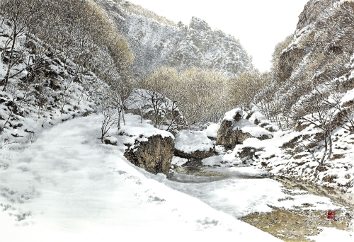 Mt. GANGCHEON-WINTER