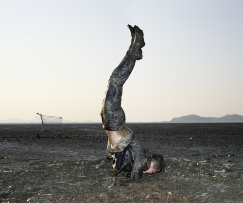 Supported Armstand Pose- Shirshasana