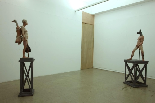 Installation View of Condition for Ordinary_Settlement & Condition for Ordinary_Colonization